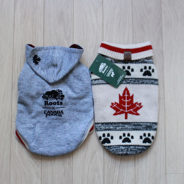 RemixTheDog - Roots x Canada Pooch Sweater 2